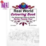 【中商海外直订】Real World Colouring Books Series 24