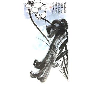 """祖籍广东,被誉为""""南张北齐""""的张大千(荷花)43"""