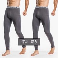 男士秋裤单件保暖裤紧身单裤款青年修身弹力棉毛打底裤