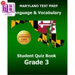 【中商海外直订】MARYLAND TEST PREP Language & Vocabulary Student Qu