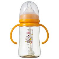 【当当自营】日康 宽口有柄PPSU自动奶瓶240ML RK-3165(新老包装替换中)