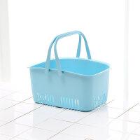 沐浴篮洗澡篮子手提浴室洗漱用品收纳篮沐浴筐宿舍用软塑料洗澡篮浴筐