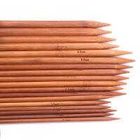 织毛衣的长针 长5cm长棒针单头竹棒针竹碳棒针木质长针毛衣针围巾针织毛线针