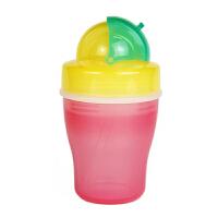 【当当自营】Pigeon贝亲 双层保温杯吸管杯(黄绿色杯)DA33 保温杯/杯子/保温壶/水壶/水杯/吸管杯 贝亲洗护喂养用品