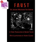【中商海外直订】Faust by Johann Wolfang von Goethe: Translated by B