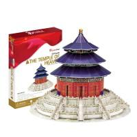3d立体拼图 diy拼装模型 仿真中国建筑天安门东方明珠长城