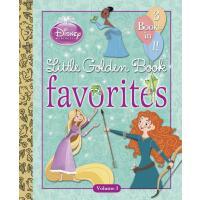 【预订】Disney Princess Little Golden Book Favorites: Volume 3