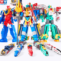 巨神战击队4之轨道先锋金刚热浪战击王合体玩具男孩四2变形机器人