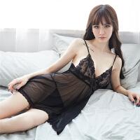 情趣内衣女 女士套装制服诱惑性感睡衣透明露背蕾丝吊带睡裙家居服套装 性感撩人