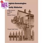 【中商海外直订】Virginia Genealogies and Family Histories: A Biblio