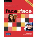 【预订】Face2face Elementary Workbook with Key