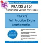 【中商海外直订】PRAXIS 5161 Mathematics Content Knowledge: PRAXIS I