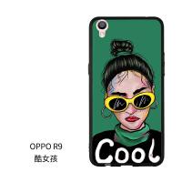 原创潮牌oppor9s手机壳r9/r11/r11s plus个性创意情侣女款防摔软