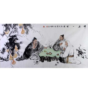 中国美协会员,中国书协会员 侯桂峰(禅茶一味)22