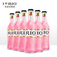 RIO锐澳3.8度水蜜桃口味预调鸡尾酒套装果酒洋酒275ml*6瓶