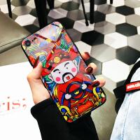 iphone7plus手�C�げAхR面�O果8/7/6s/x后�こ蹦信���性��意�神防摔社��人抖音同款外��