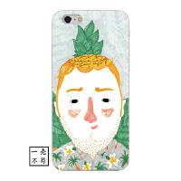 �凸盼乃�菠�}香蕉�^iphone6手�C�ぬO果X���7plus��意��性8保�o��