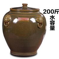 景德镇陶瓷器茶饼罐茶叶罐大号密封装饰罐客厅家居饰品零食罐
