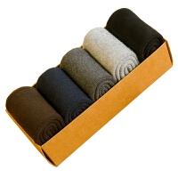 厚袜子男秋冬款棉中筒袜冬季加厚加绒保暖毛圈短袜棉长袜棉袜 毛圈 中筒