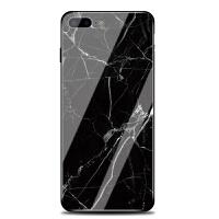 新款创意苹果7plus手机壳iphone6s女7p钢化玻璃后盖8x镜面大理石纹6韩国潮牌个性创意星空