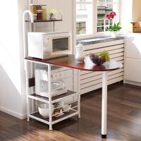 厨房置物架微波炉架子落地多层架多功能厨房储物架收纳架子