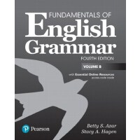 【预订】Fundamentals of English Grammar Student Book B with Ess