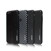 【包邮】Remax 苹果6/6s手机壳 iPhone6手机保护套 4.7寸皮纹手机软壳
