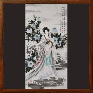 《精品人物画》莫良友ML5519 中国工艺美术家协会名誉主席 一级美术师