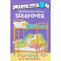 Berenstain Bears' Sleepover, The贝贝熊到朋友家过夜(I Can Read,Level
