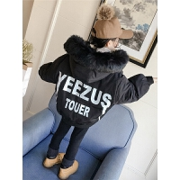 儿童面包服冬季2018新款韩版棉服男孩女孩外套短款棉衣