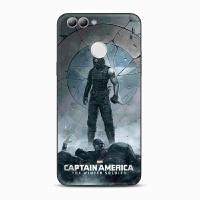 美国队长冬兵华为nova2plus手机壳nova青春畅享7plus欧美软壳套