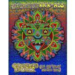 【预订】Chris Dyer's Kick-Ass Coloring Book: For Rad 'adults' a