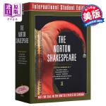 【中商原版】诺顿莎士比亚全集(第3版)(国际学生版)英文原版 The Norton Shakespeare