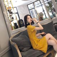 泰国沙滩裙女夏巴厘岛三亚海边度假旅游显瘦连衣裙小个子高腰裙子