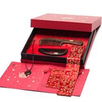 礼盒百年好合五 创意结婚礼物中式复古风 新婚礼物