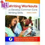 【中商海外直订】Writing Workouts to Develop Common Core Writing Ski