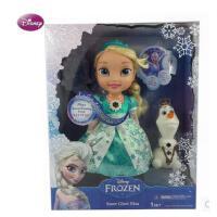 迪士尼FROZEN冰雪奇缘 音乐艾莎女王娃娃Snow Glow Elsa