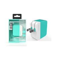 [礼品卡]Remax双USB充电头 Remax 3.1A双USB充电头 2.1A快充 平板手机多用充电器多口USB输出