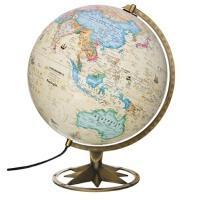 【TH】博目地球仪:30cm中英文政区古典立体地球仪 北京博目地图制品有限责任公司 测绘出版社 97875030334