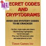 【中商海外直订】Secret Codes and Cryptograms Over 200 Mystery Codes
