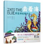 去看海:蔚蓝深处有什么 英国博物绘本 中英双语 1-6岁 幼儿读物