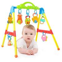 宝宝躺着玩具 新生婴儿健身器健身架 躺着玩带音乐儿童多功能1-6-12月