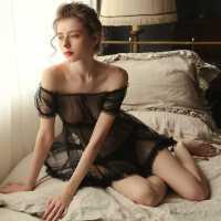情趣内衣透明性感睡衣挑逗衣服大码诱惑激情套装床上超骚小胸女骚