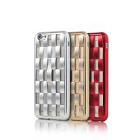 【包邮】Remax iPhone6/6S高端电镀保护壳 指环支架手机套 i6创意软壳4.7