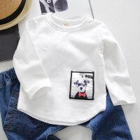 男童卫衣春秋女童长袖t宝宝T恤婴儿打底衫1-3岁儿童衣服
