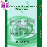 【中商海外直�】Killer Samurai Sudoku: 75 Puzzles