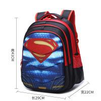 儿童书包小学生1-3年男孩幼儿园美国队长双肩包蜘蛛侠防水背包