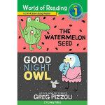 阅读世界1 英文原版 World of Reading Watermelon Seed, The and Good N