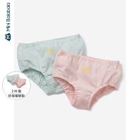 迷你巴拉巴拉儿童内裤女童三角裤2条装宝宝冬季新款环保短裤底裤
