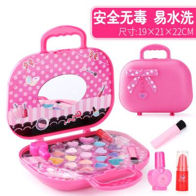 儿童化妆品公主彩妆盒套装口红小女童女孩玩具打扮礼物3-6岁7